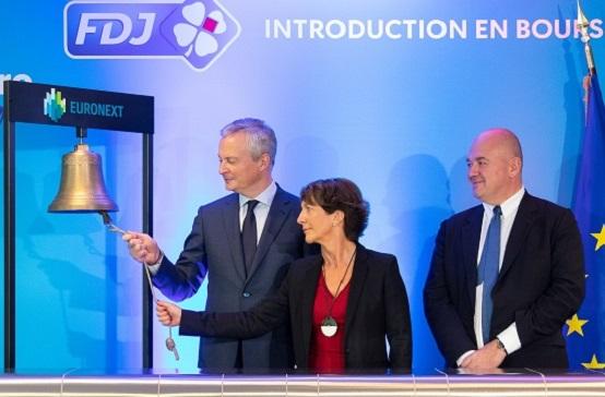 Premier anniversaire de l'introduction en Bourse du groupe FDJ