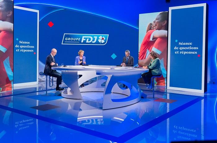 Regardez la retransmission vidéo de l'assemblée générale 2021 du groupe FDJ